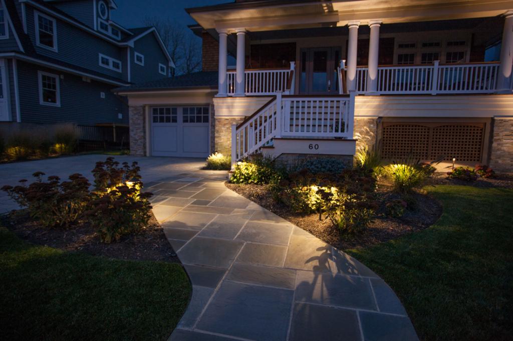 Our Lighting Techniques: - Landscape Lighting - By Design Landscapes